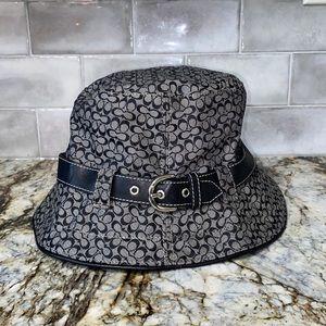 Vintage Coach Buckle Bucket Hat
